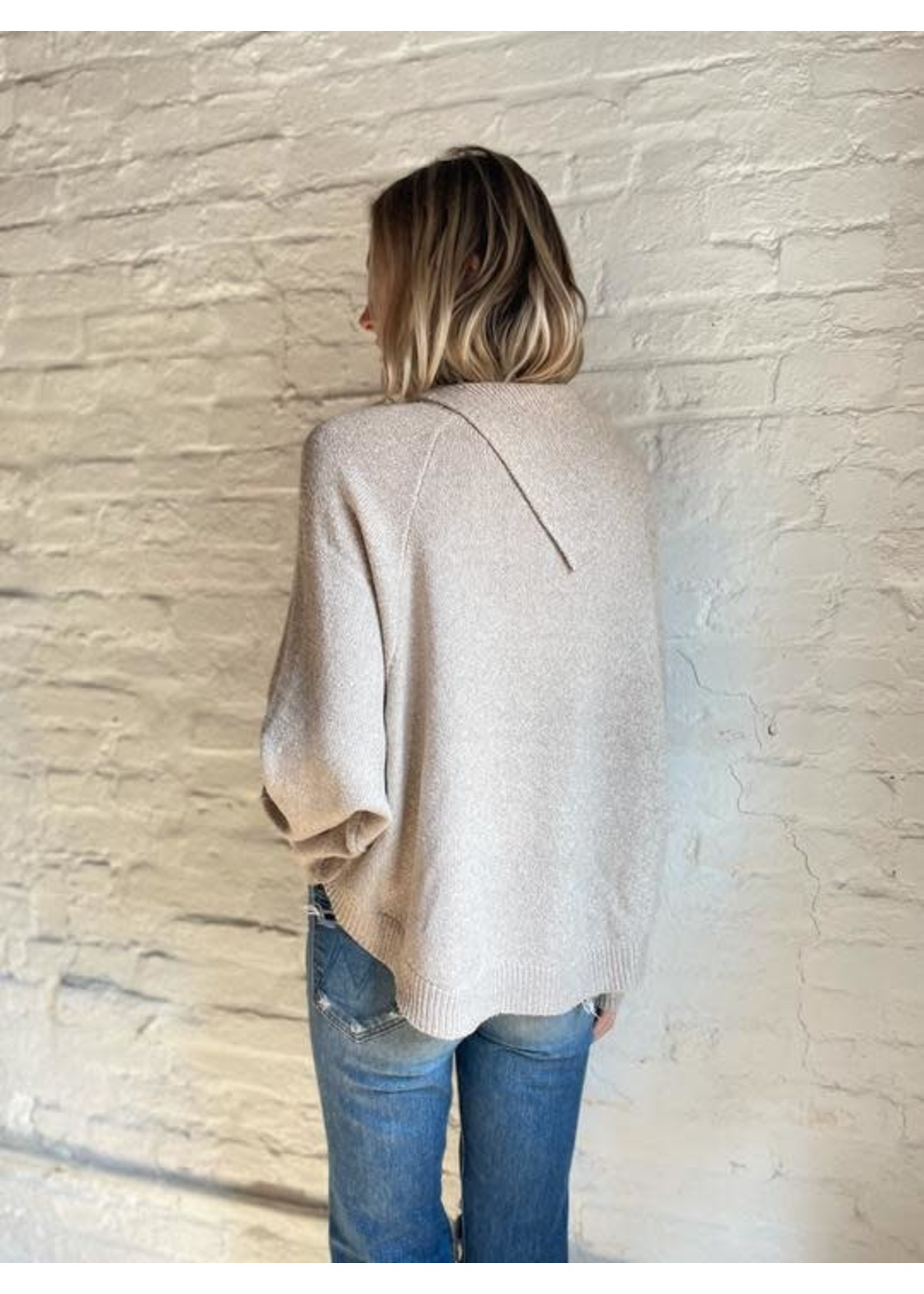 Six Fifty Fold Over Sweater