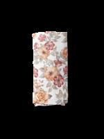 The mini scout Couverture en mousseline Sunset floral