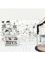Atelier Rue Tabaga Rouleau de dessin géant Pirates