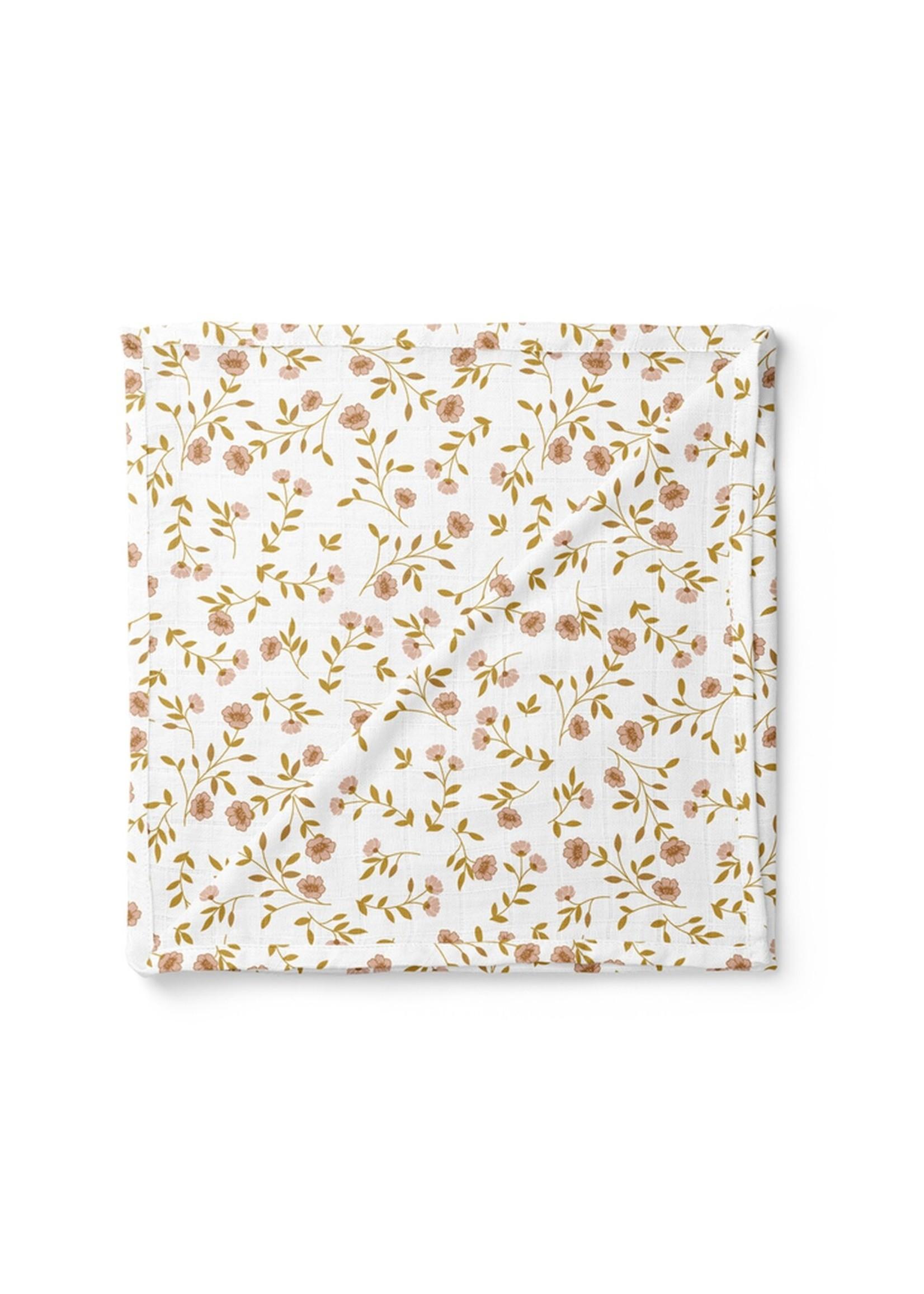 The mini scout Couverture en mousseline Wild flower white