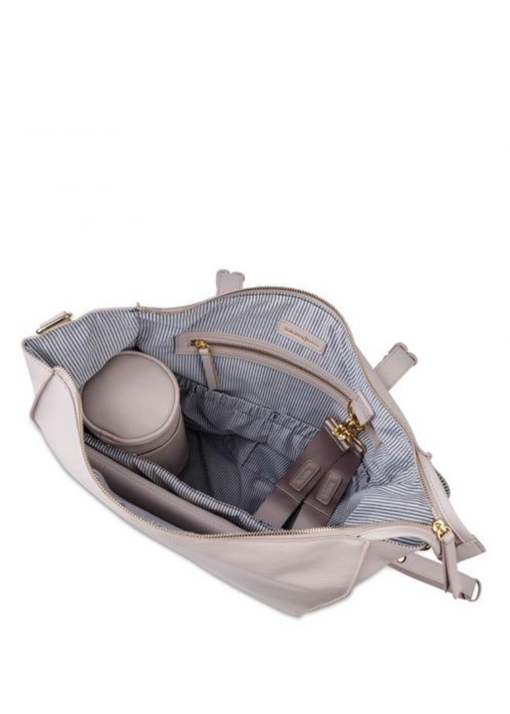 BABABING Sac à Couches Lucia- Gris