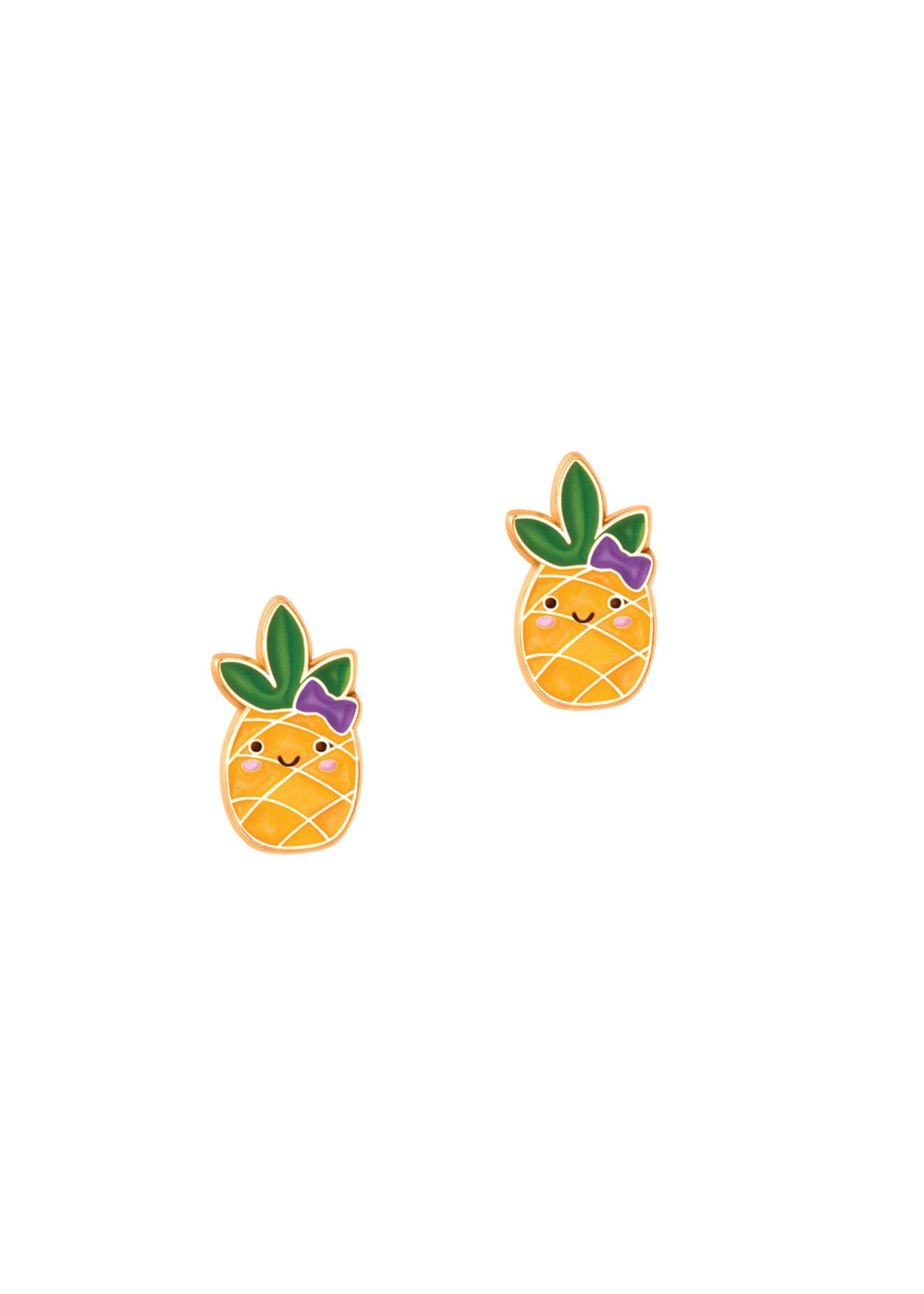 Girl Nation Boucles d'oreilles Ananas