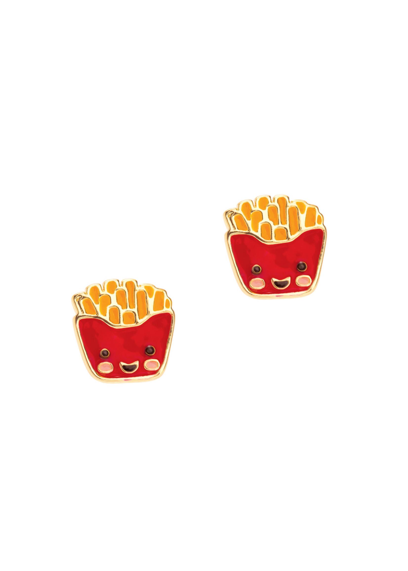 Girl Nation Boucles d'oreilles Frites