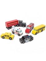 Le Toy Van Ensemble de voiture Américaines