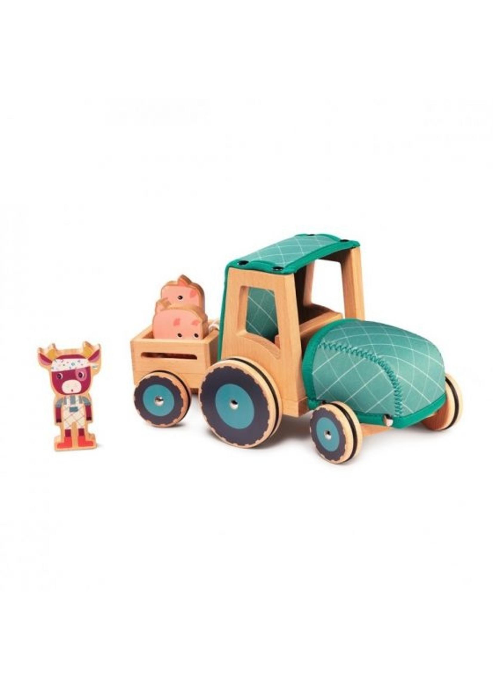 LILLIPUTIENS Tracteur Rosalie