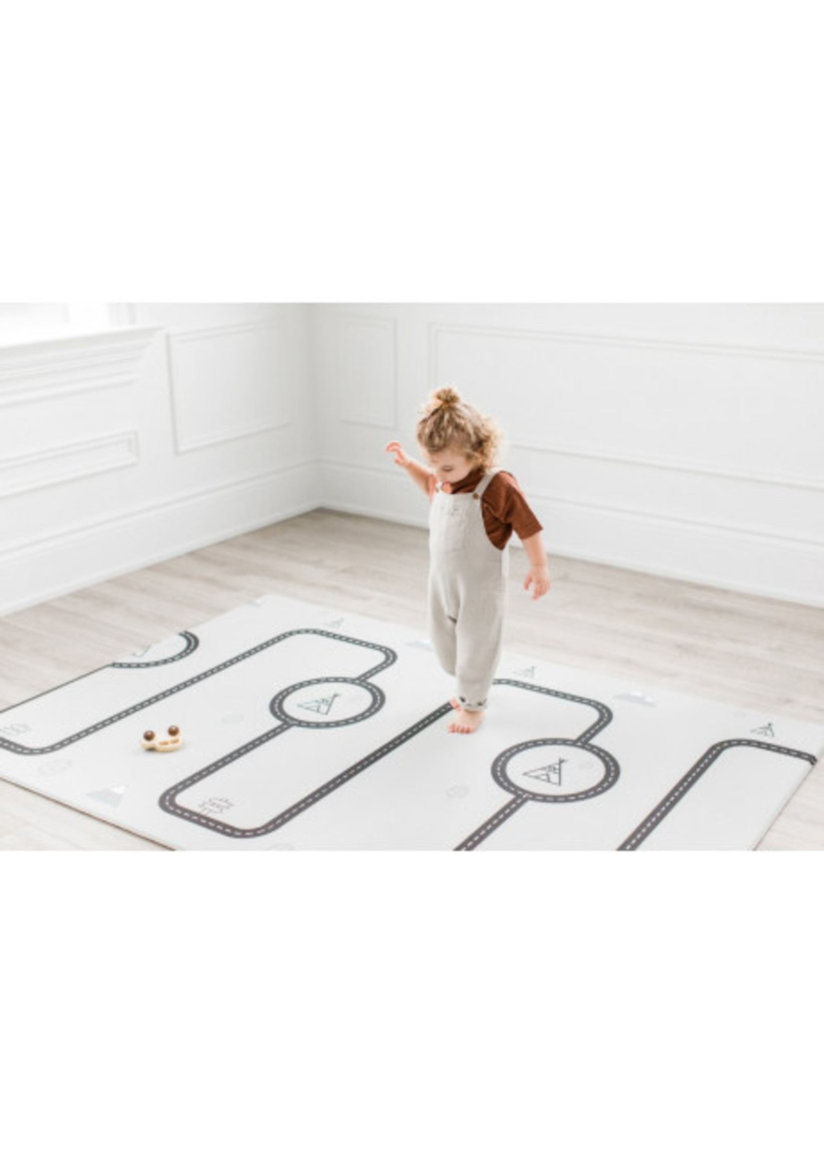 Little Bot Tapis de sol Ofie mat Country road+Triangle