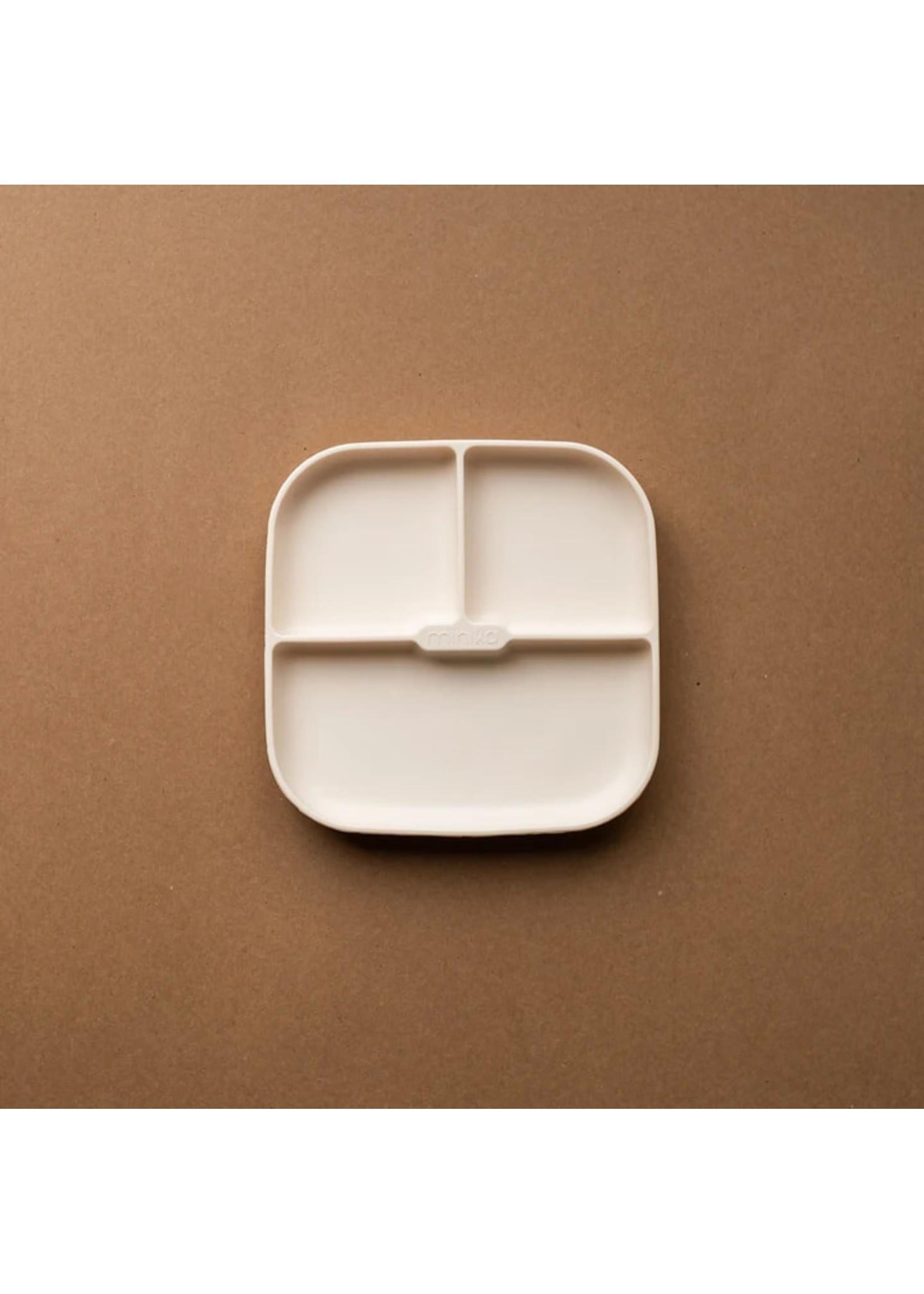 Minika Assiette de silicone Shell