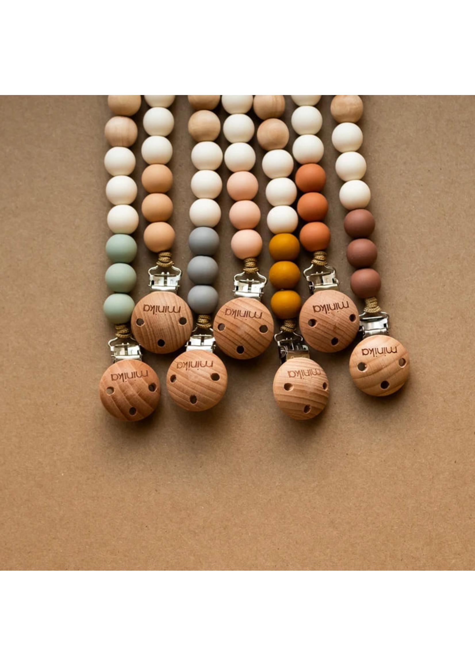 Minika Attache-Suces Colour block Stone