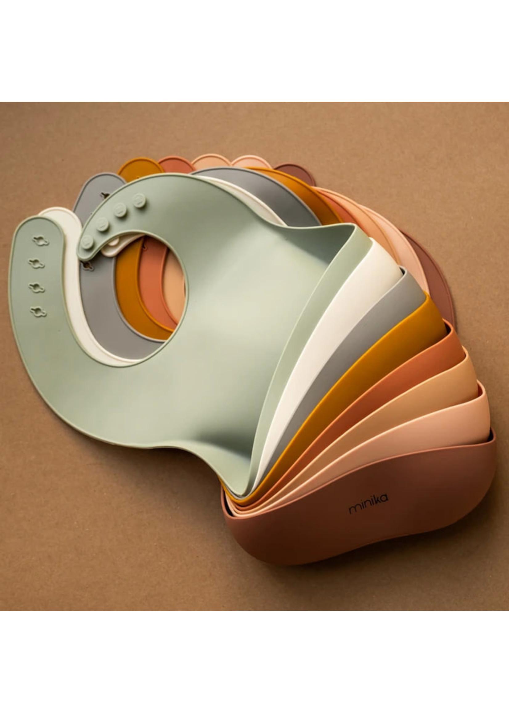 Minika Bavette en silicone Natural