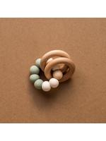 Minika Hochets de dentition avec anneaux Sage