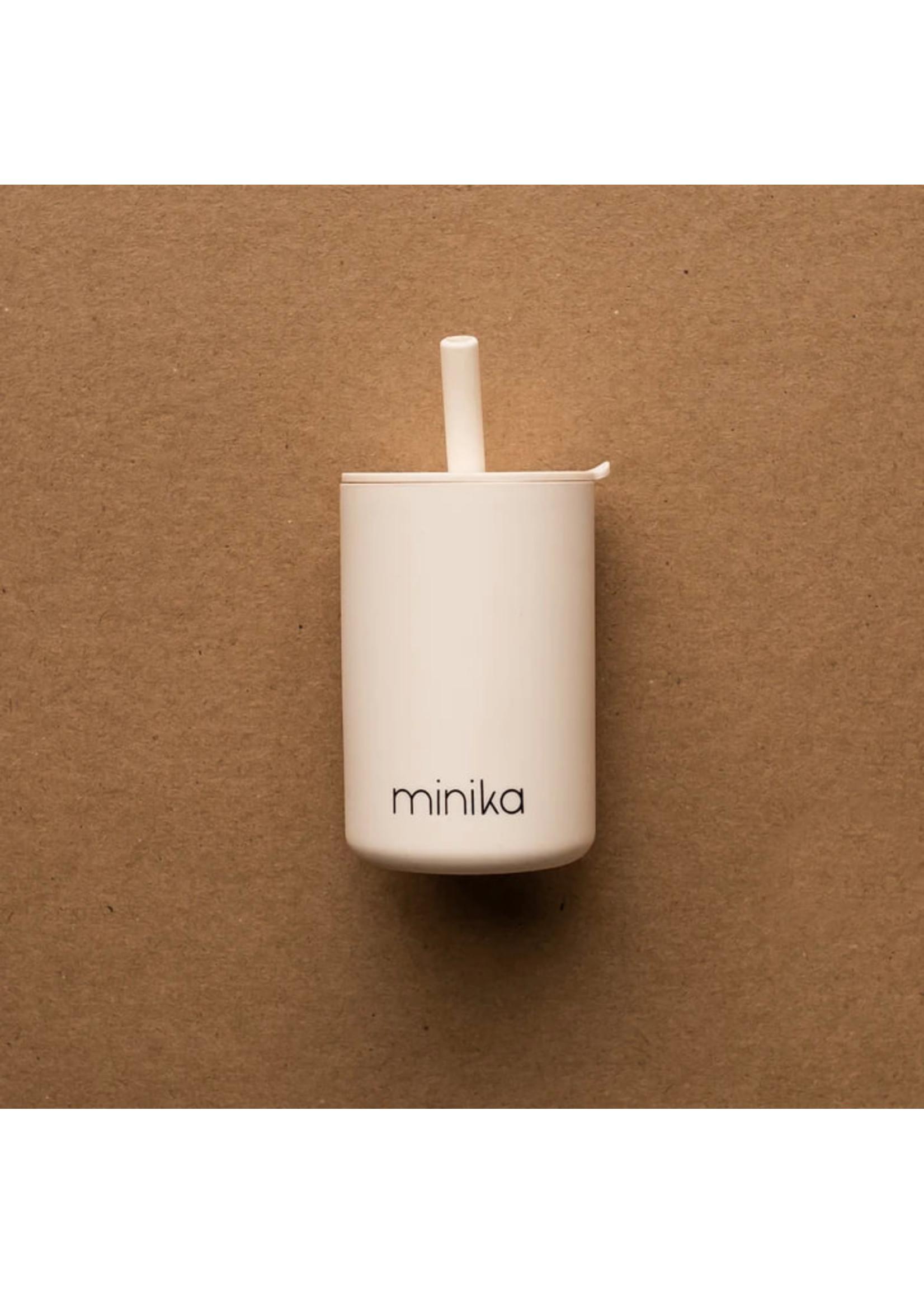 Minika Verre avec paille Shell