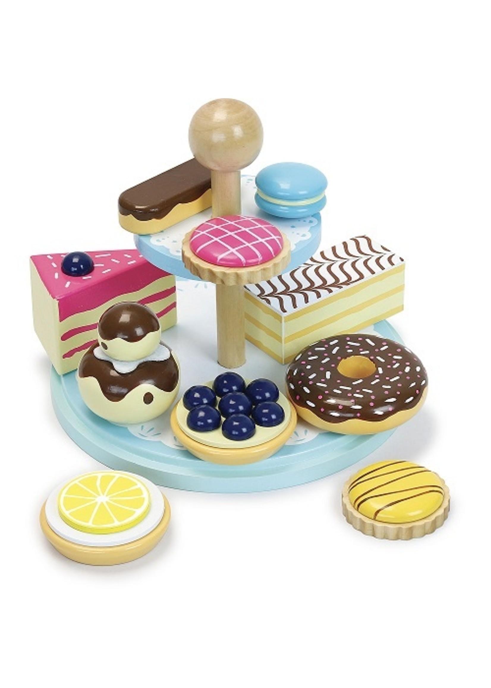 Vilac Ensemble de pâtisseries La ronde des desserts