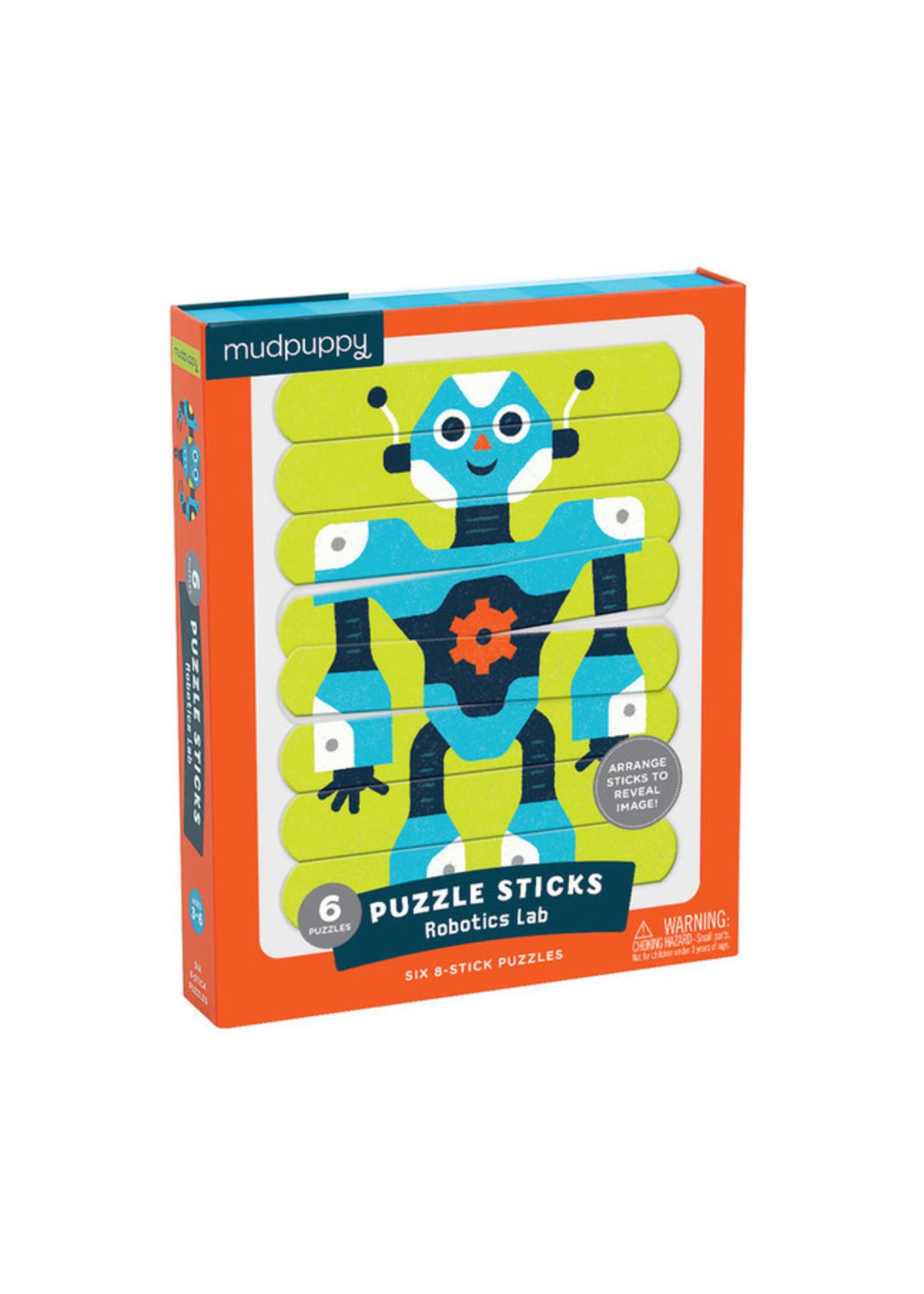 MudPuppy Casse-tête bâtons Robots