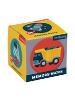 MudPuppy Mini jeu de mémoire Transports