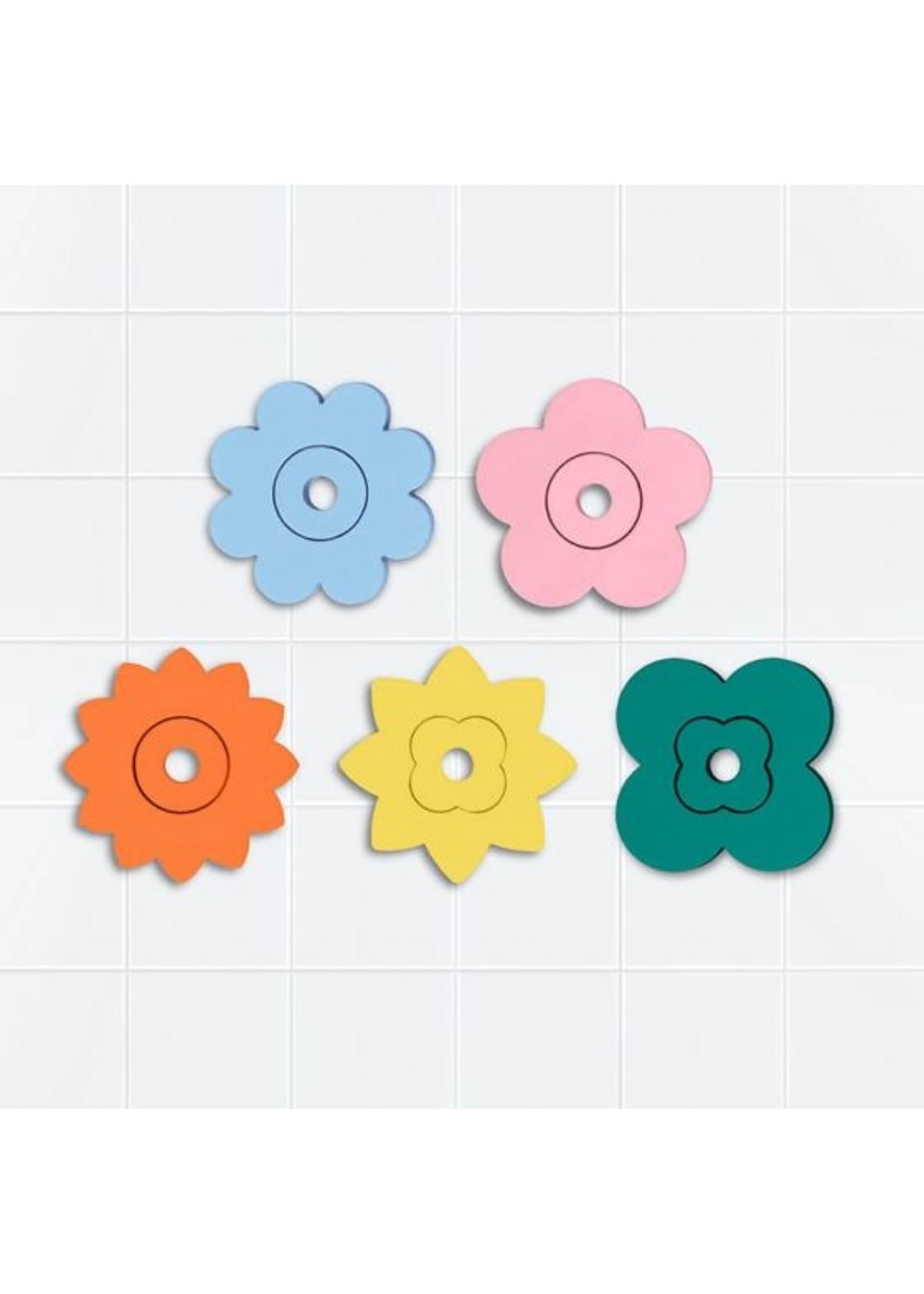 QUUT Casse-tête de bain Fleurs