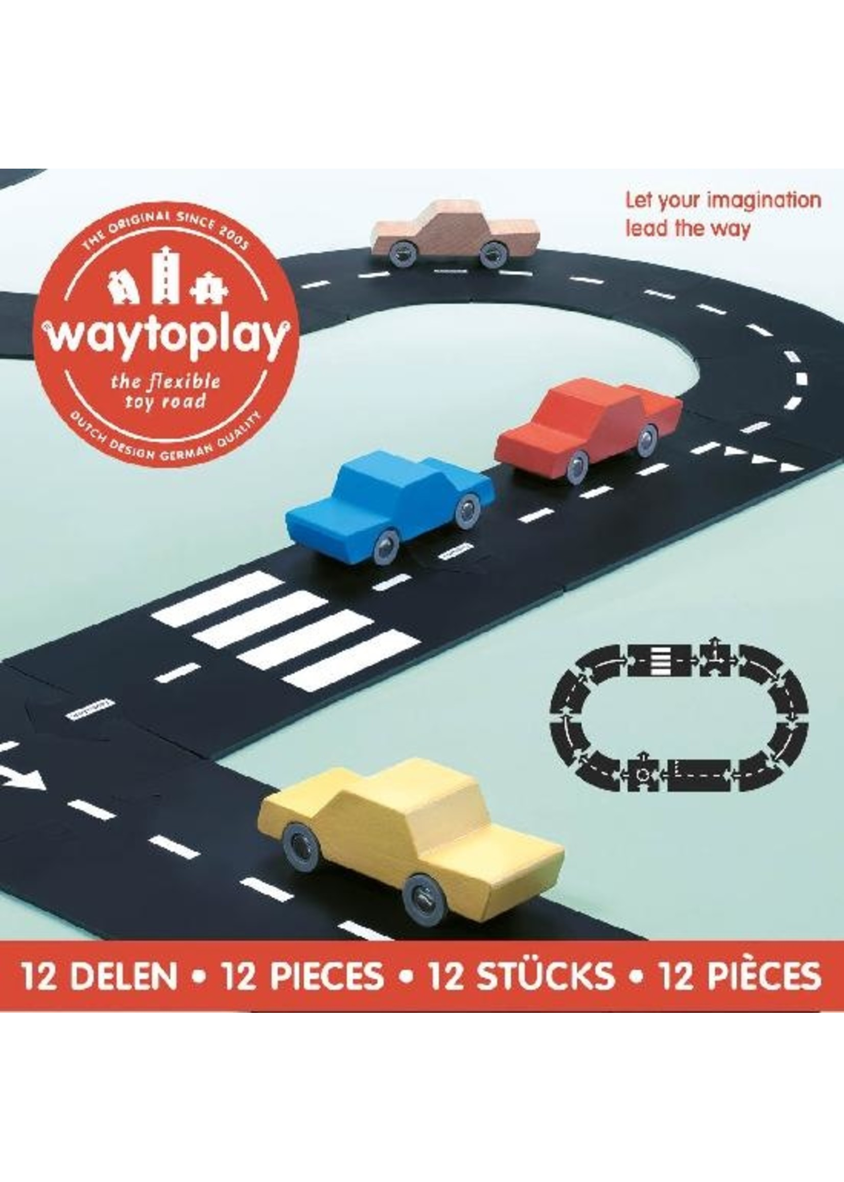 Way to play Route flexible Way to play 12 pièces