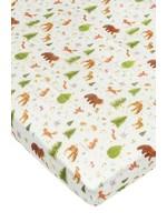Loulou lollipop Drap contour de bassinette Forest friends