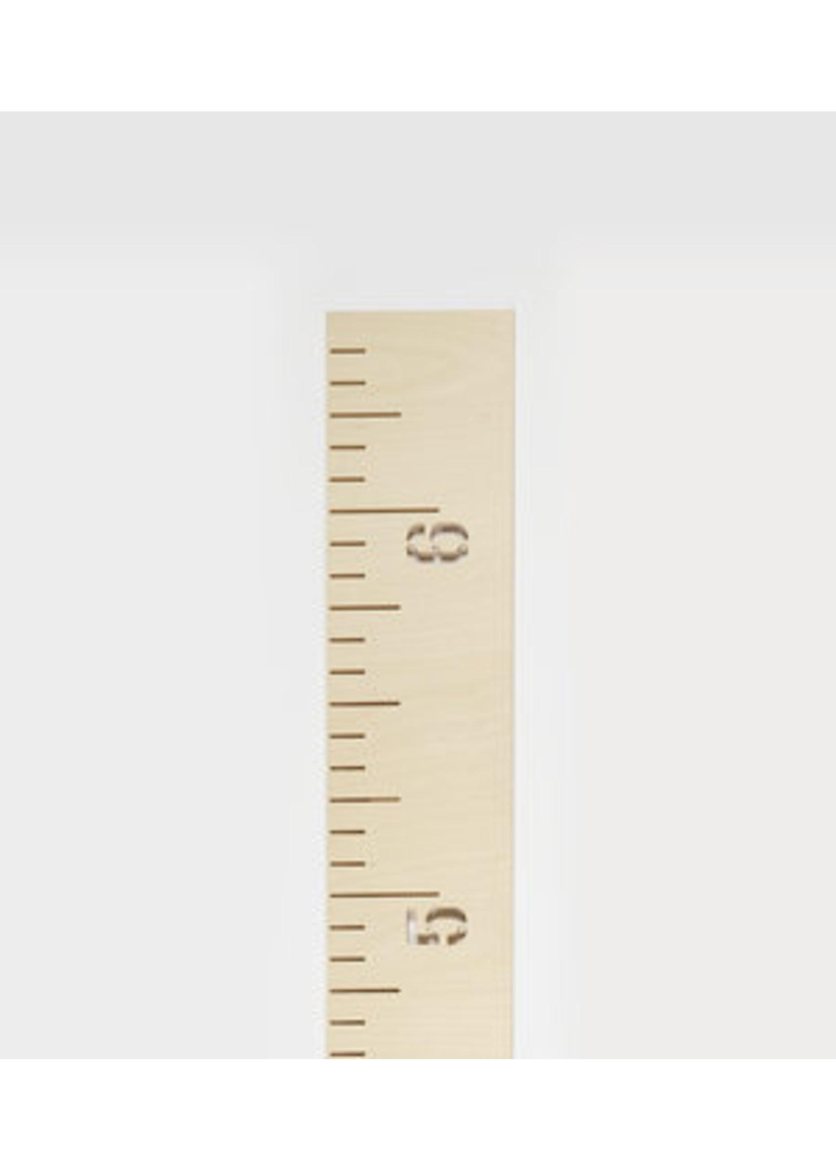Abricotine Échelle de croissance en bois