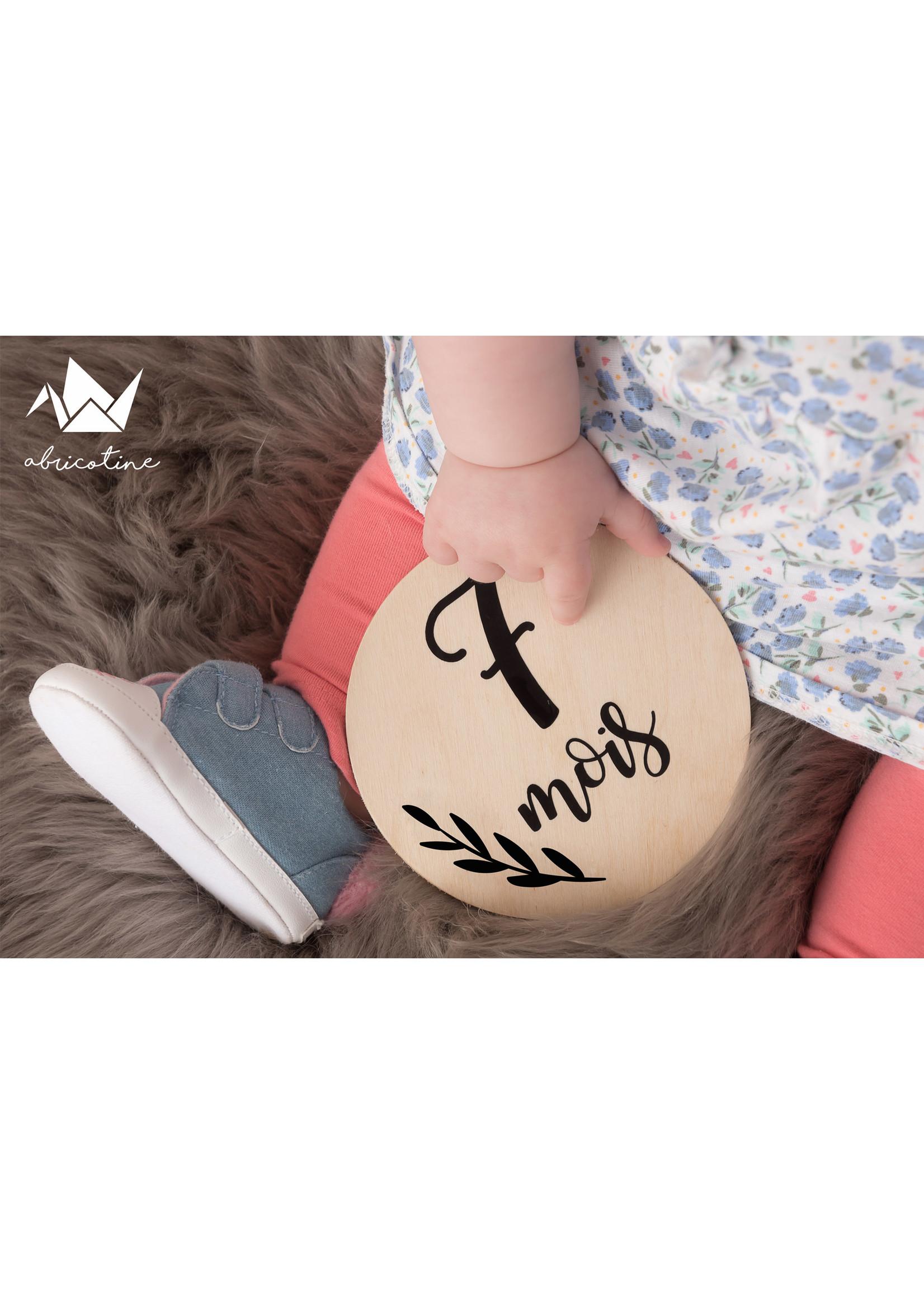 Abricotine Plaquettes première année de bébé