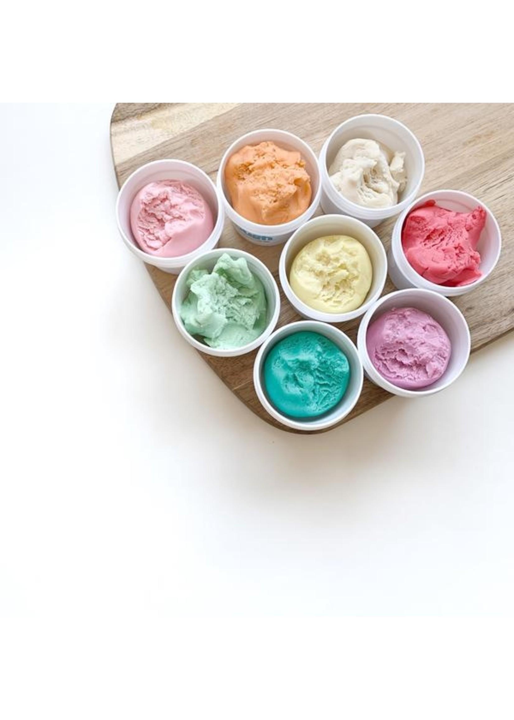 Dough Parlour Ensemble de pâte à modeler 6 pots