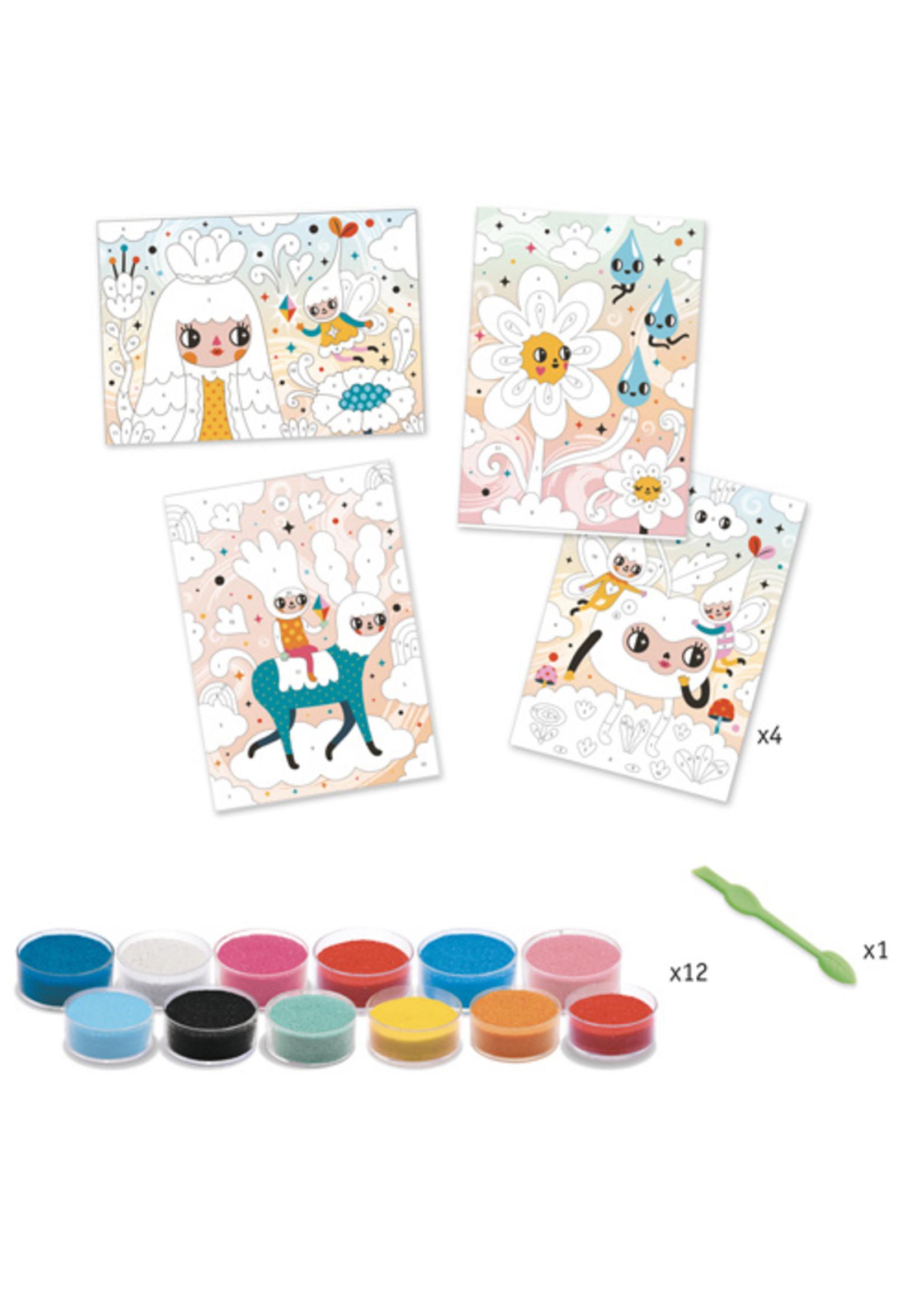 Djeco Sables colorés -À croquer