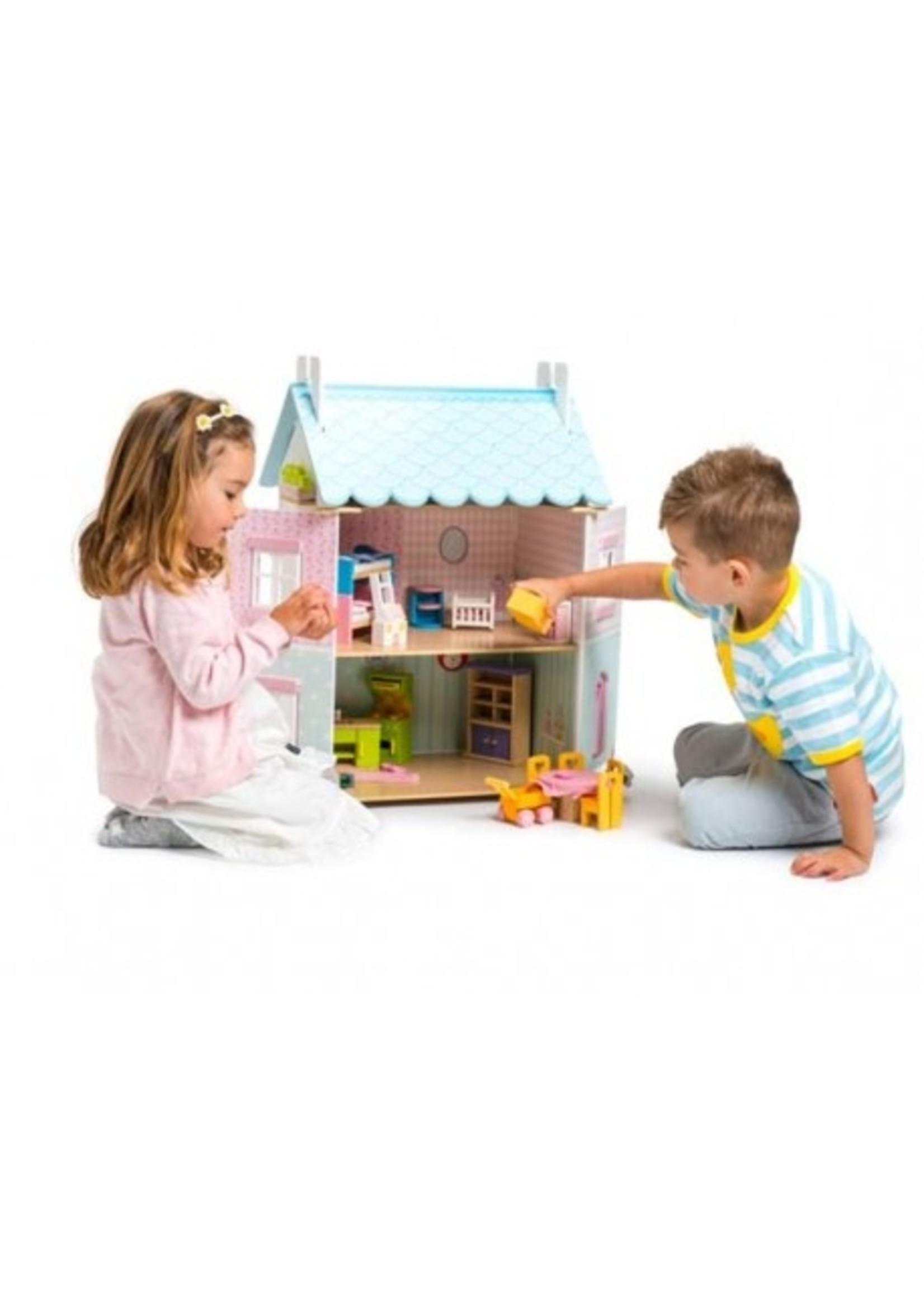 Le Toy Van Maison de poupée Blue bird cottage