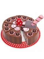 Le Toy Van Gâteau de fête Chocolat