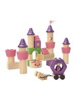 Plan Toys Ensemble de blocs Château de princesse