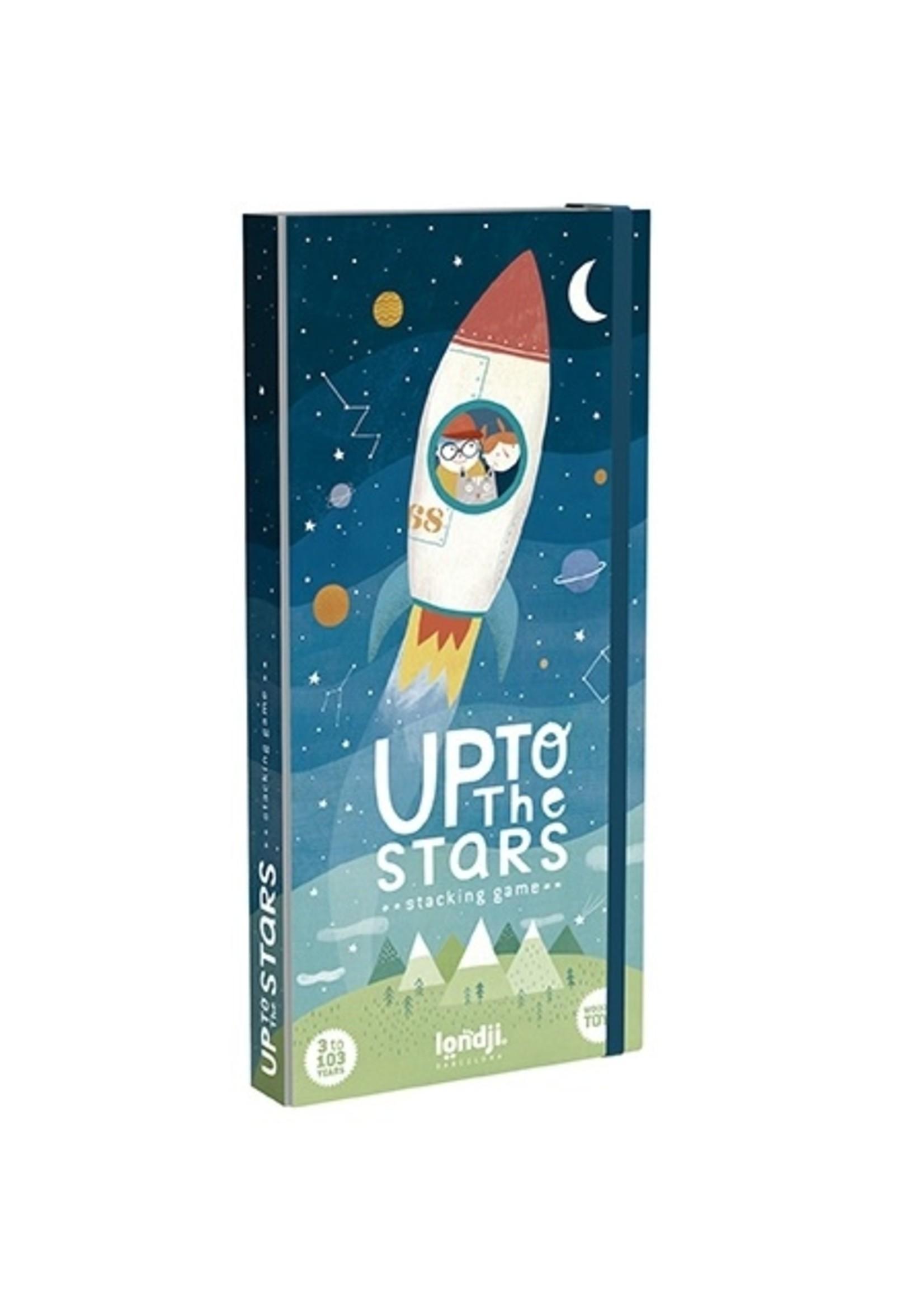 Londji Jeu d'équilibre en bois -Up to the stars
