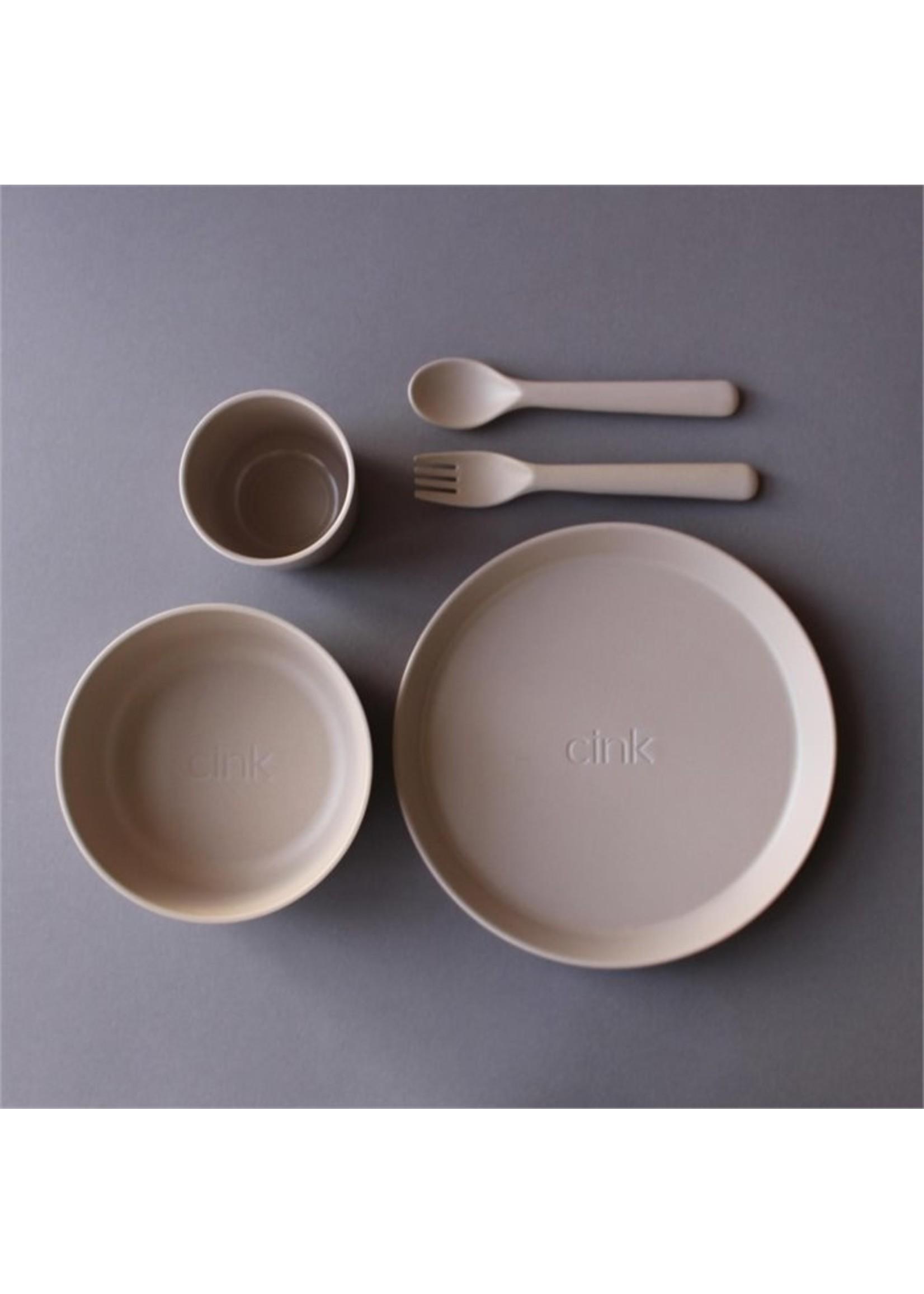 Cink Ensemble de vaisselle  en bamboo Fog