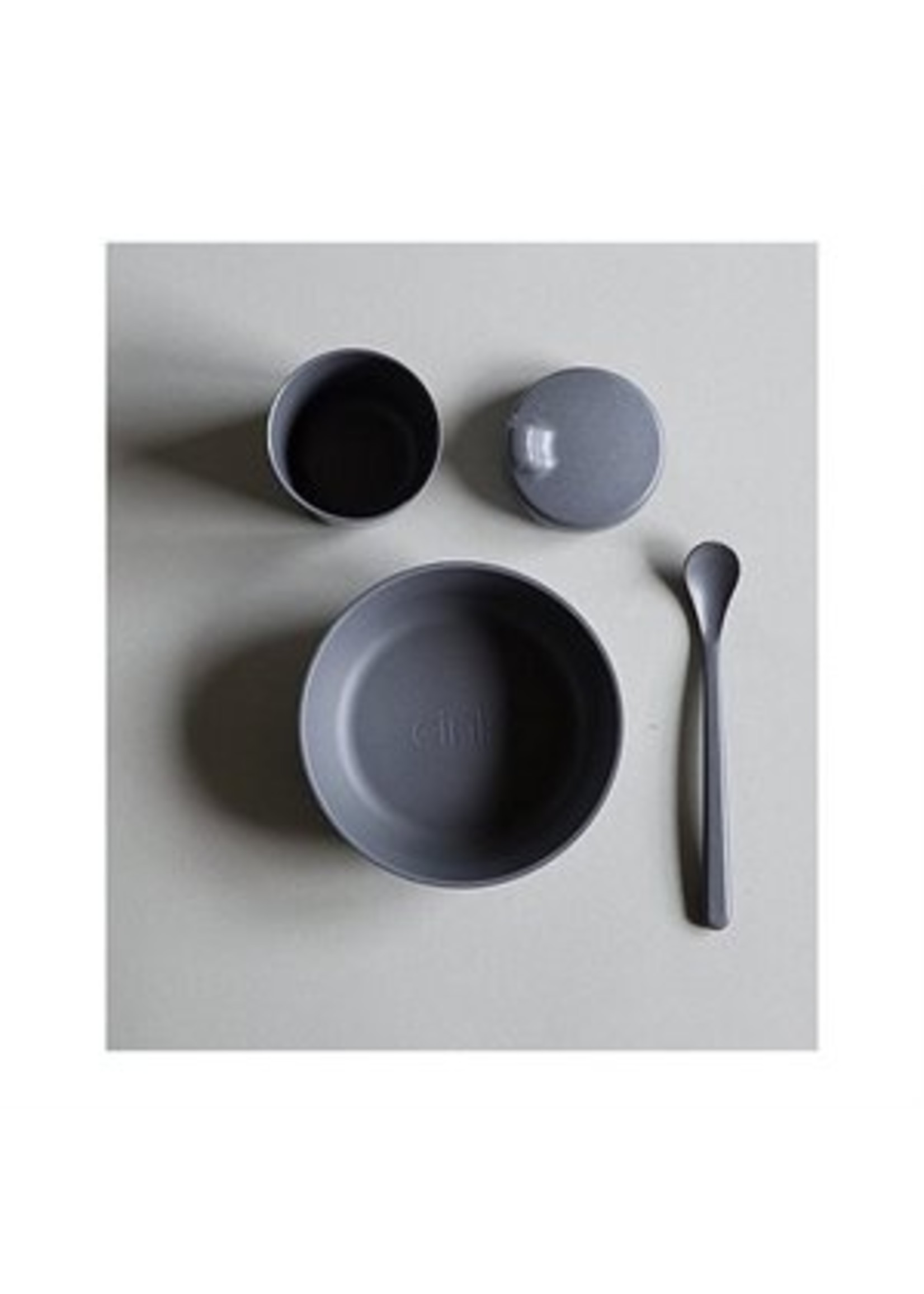 Cink Ensemble de vaisselle en bamboo bébé Océan