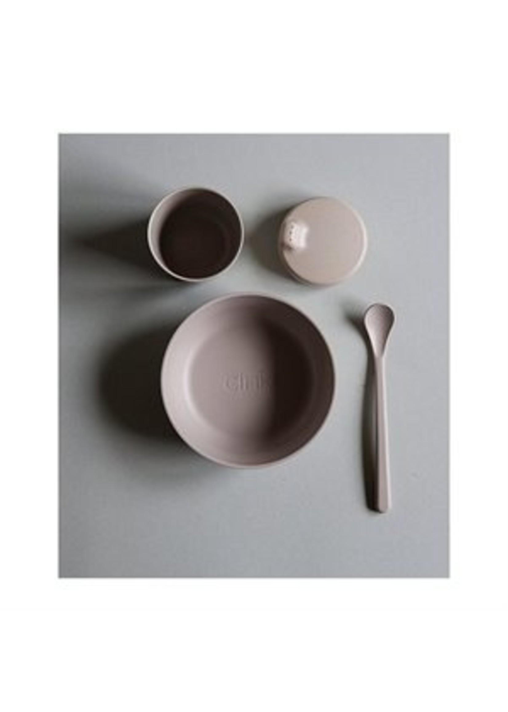 Cink Ensemble de vaisselle en bamboo bébé Fog