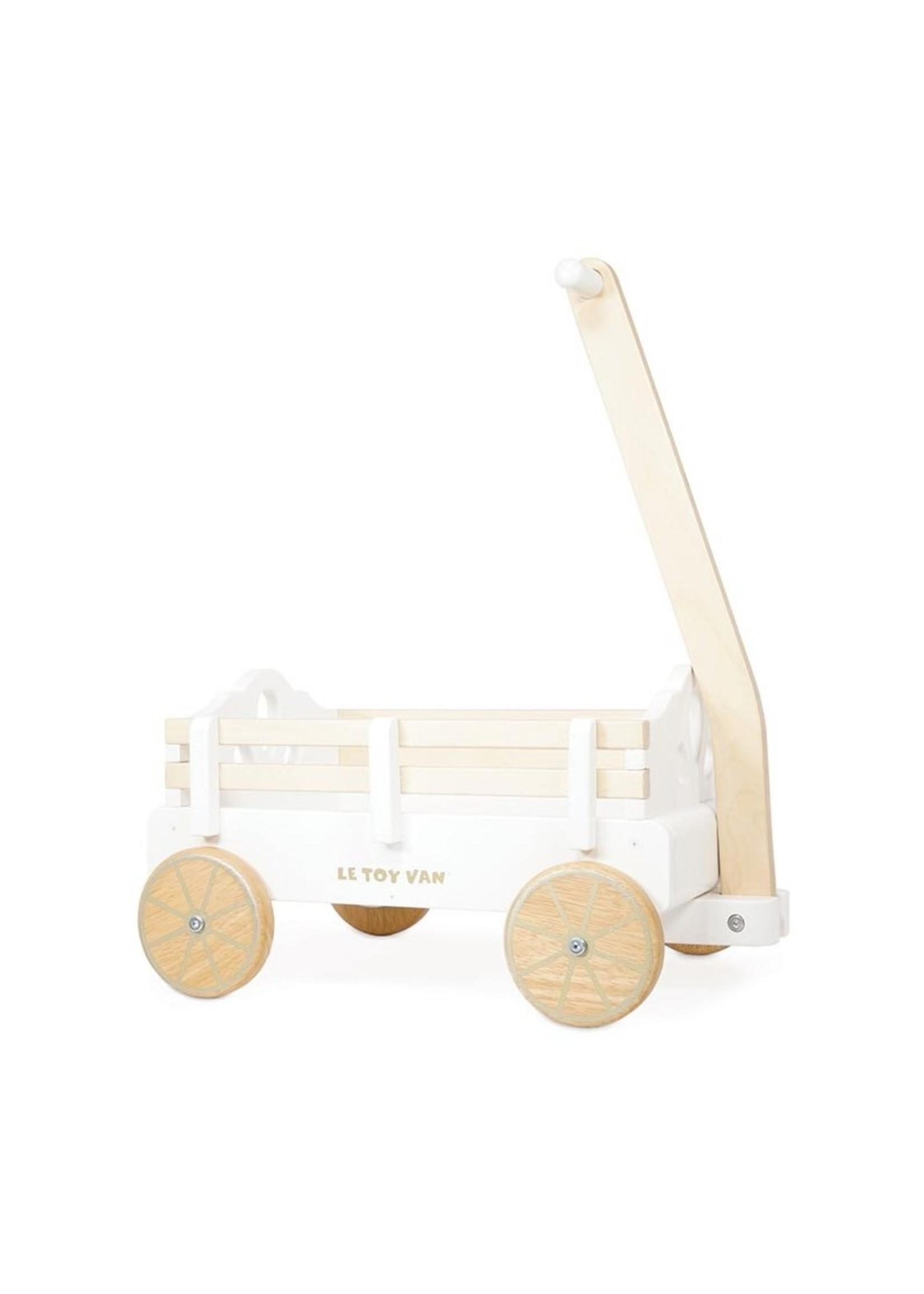 Le Toy Van Chariot en bois à tirer