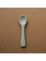 Minika Cuillère en silicone Sage
