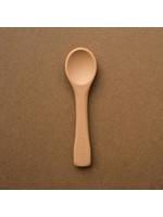 Minika Cuillère en silicone Natural