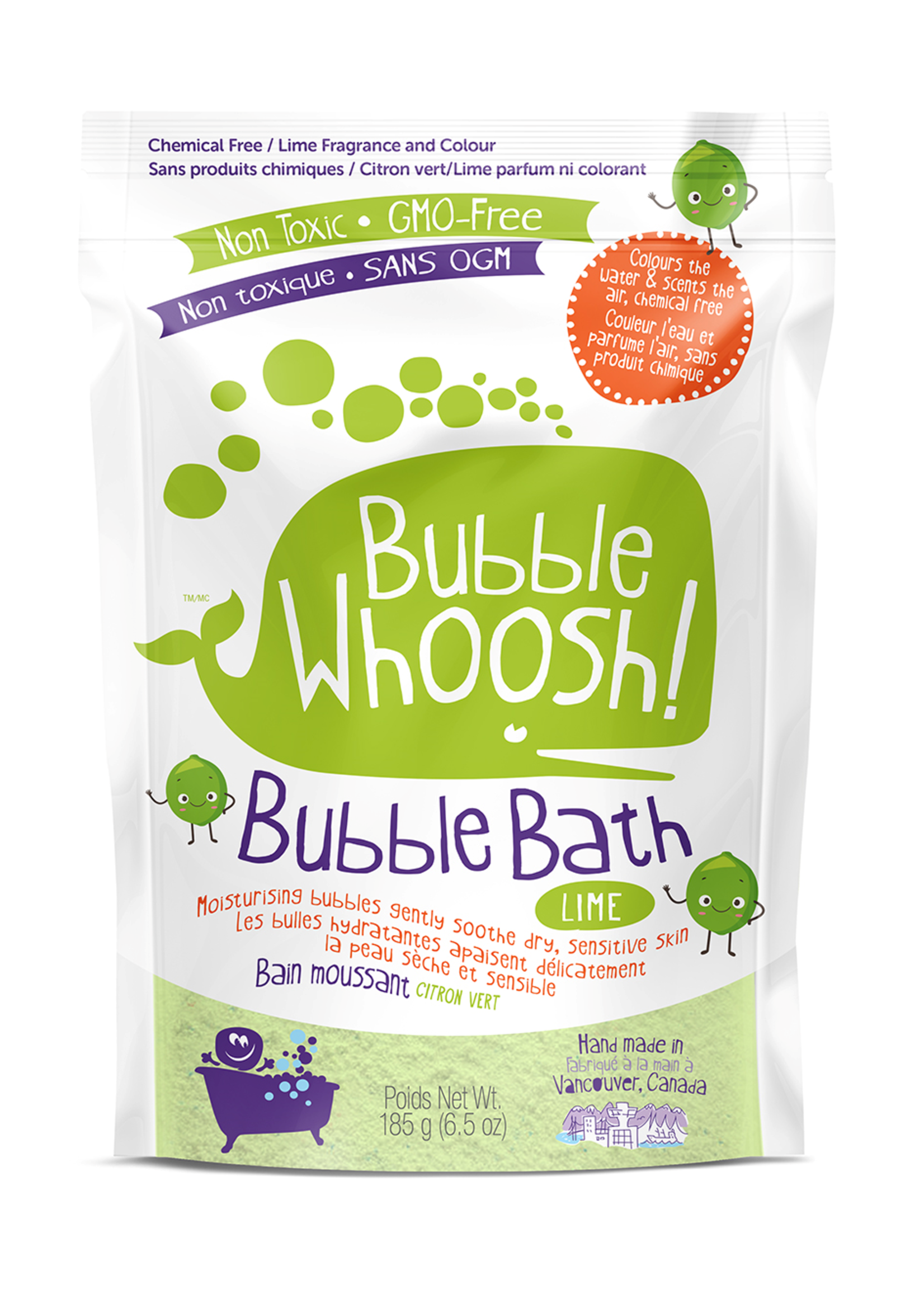 Loot Toy Company Bain moussant Bubble whoosh - Lime