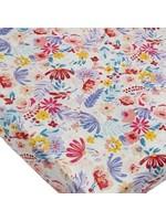 Loulou lollipop Drap contour de bassinette Light field Flowers