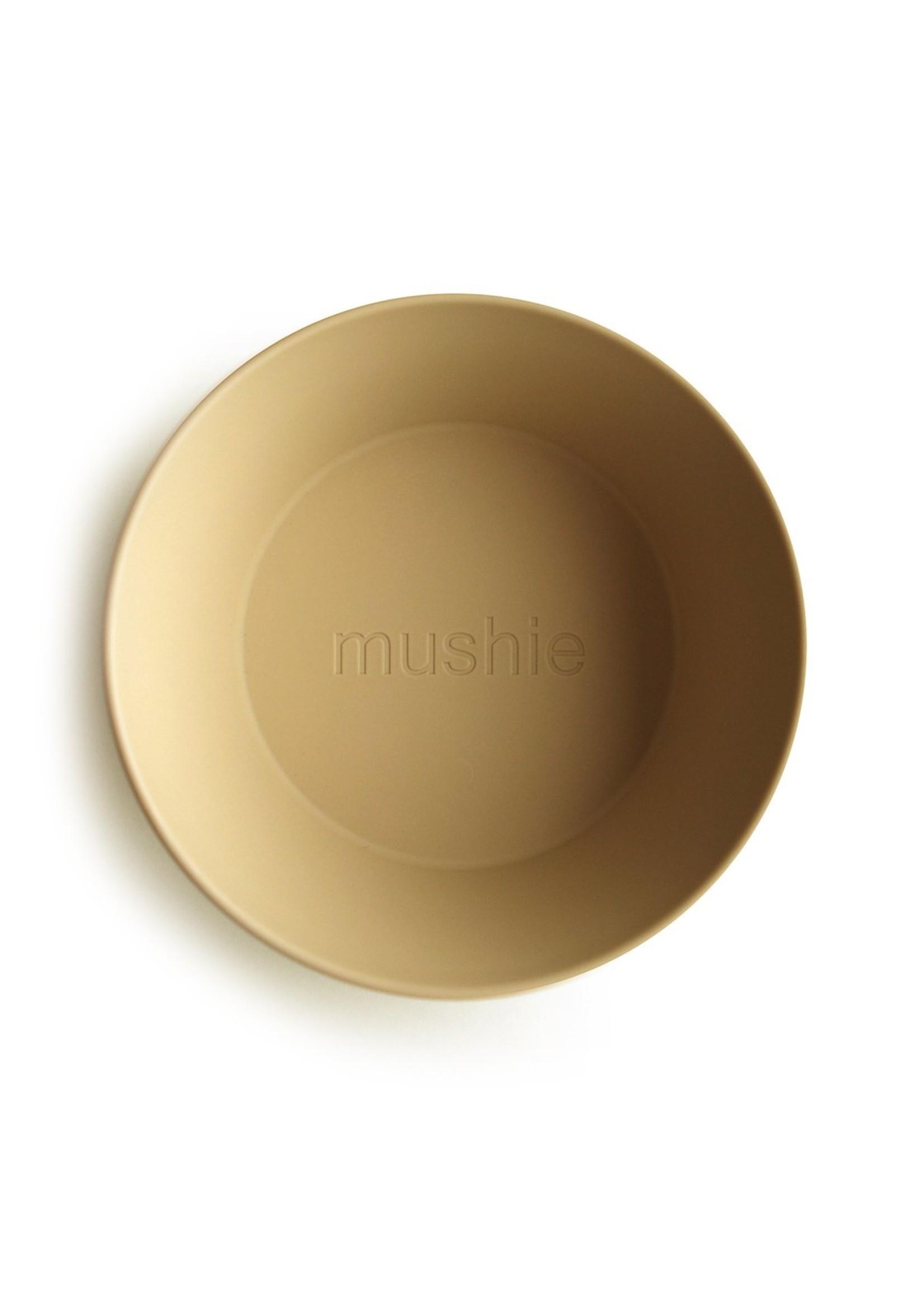 Mushie Ensemble de 2 bols Moutarde