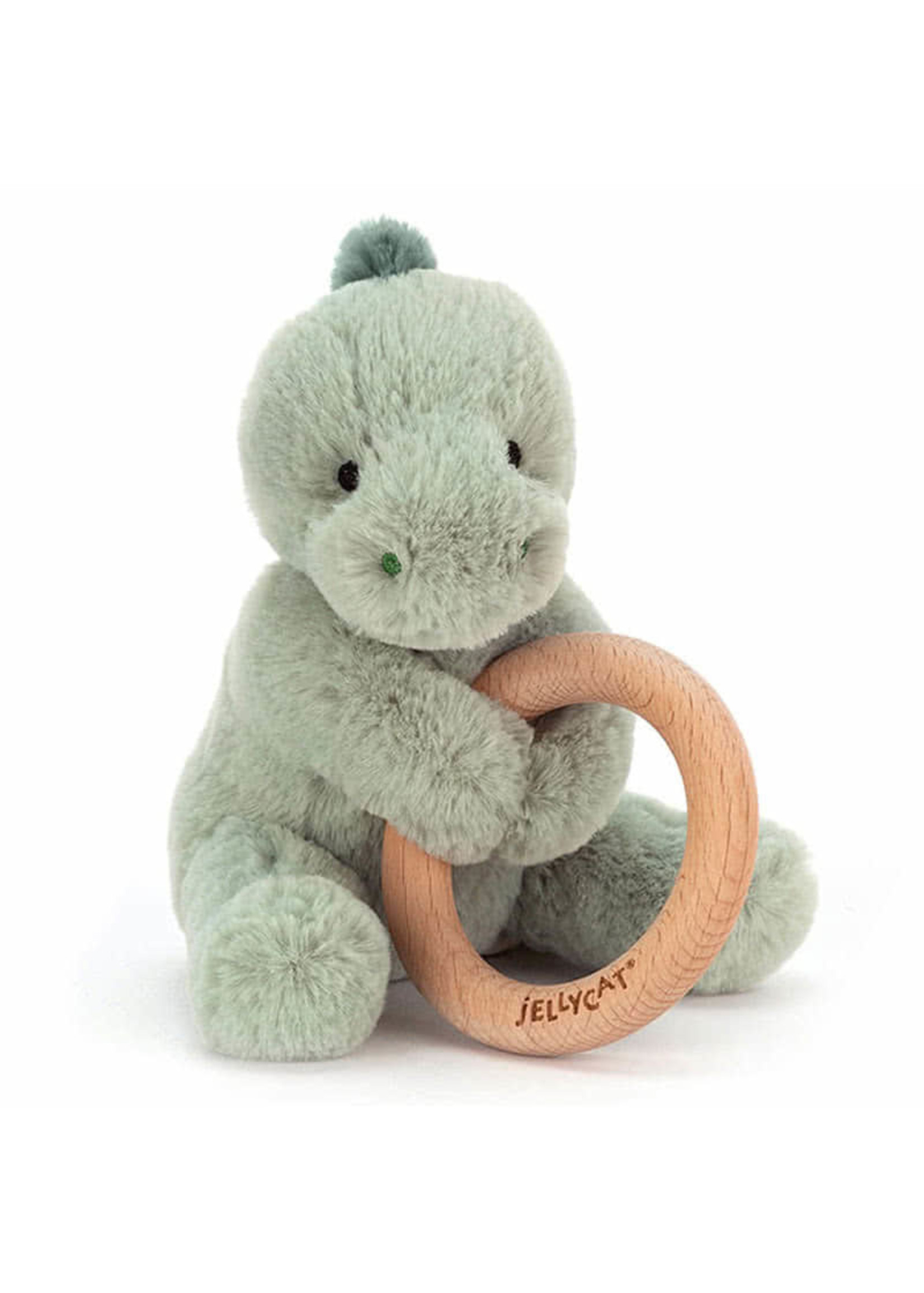 Jellycat Hochet avec anneau Dinosaure