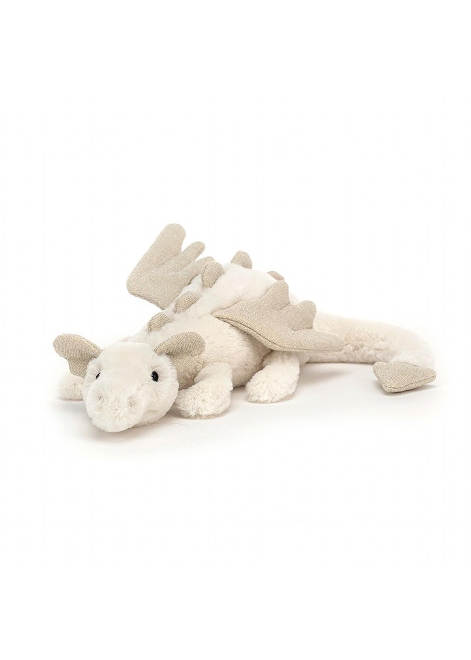 Jellycat Peluche Dragon des neiges  -Petit