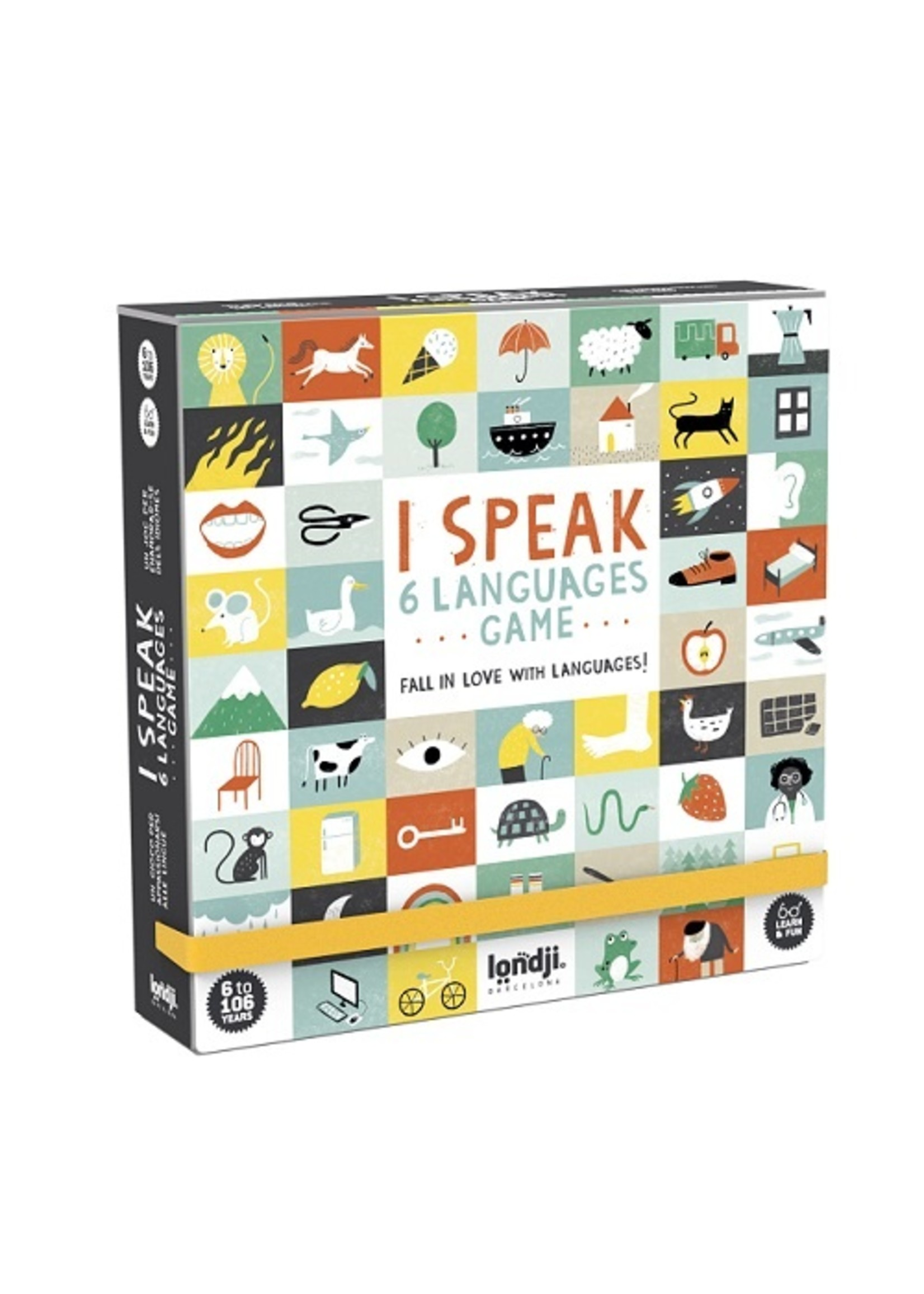 Londji Jeu  Je parle 6 langues