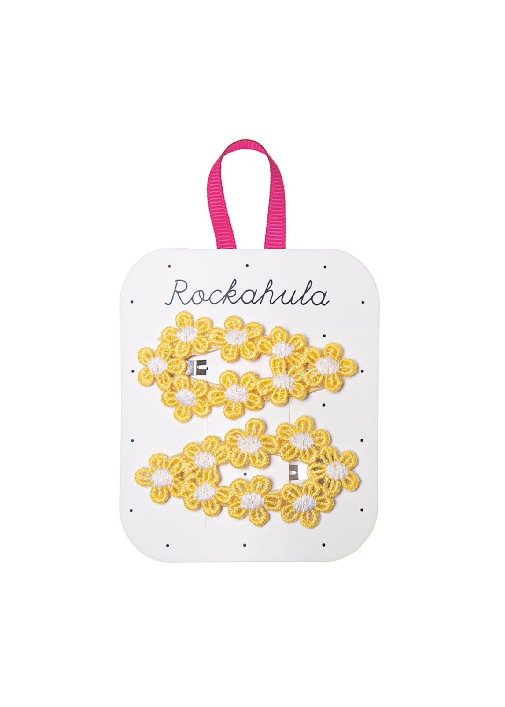 Rockahula Barrettes crochet flowers