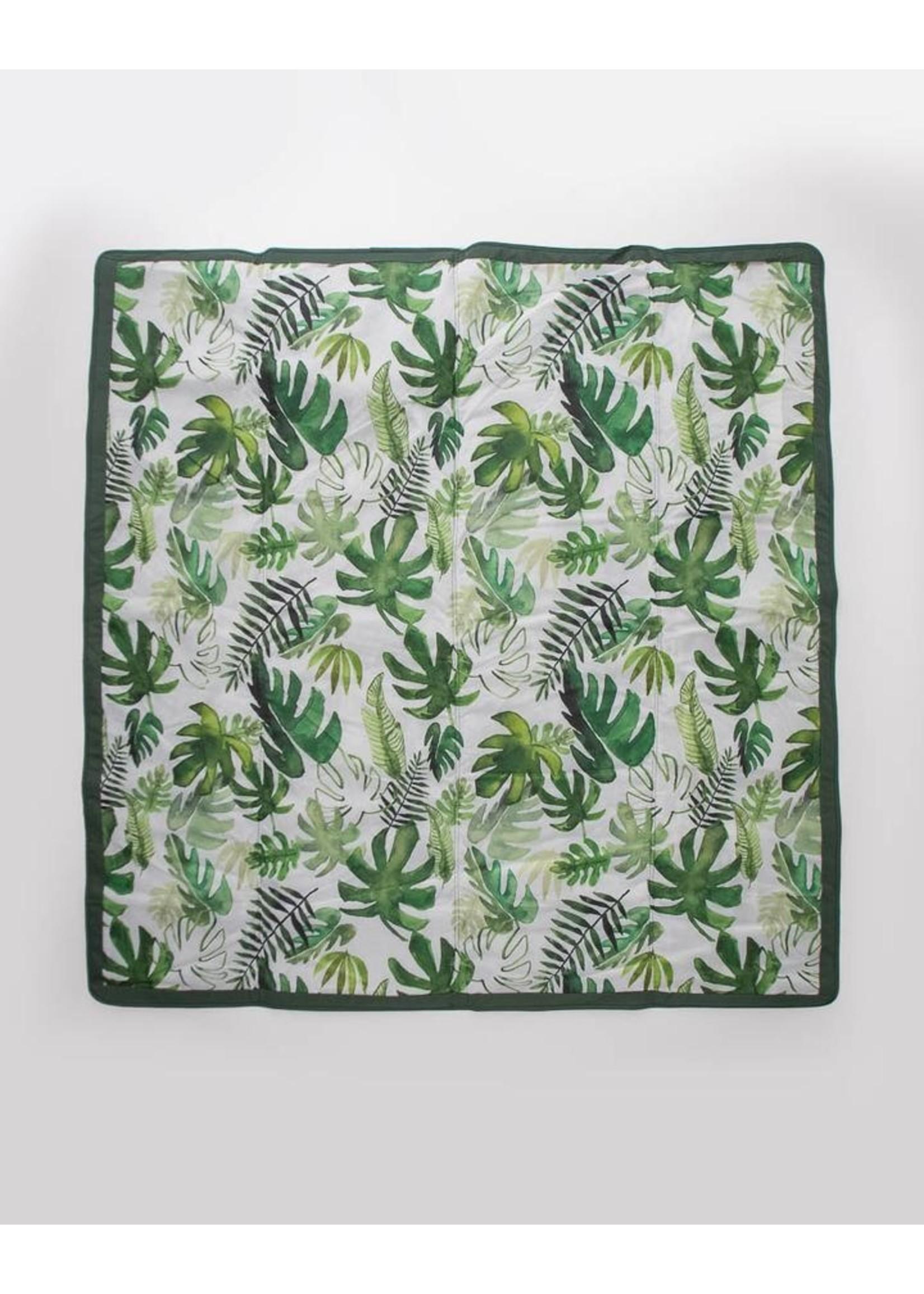 Little unicorn Couverture extérieure 5x5 Tropical Leaf