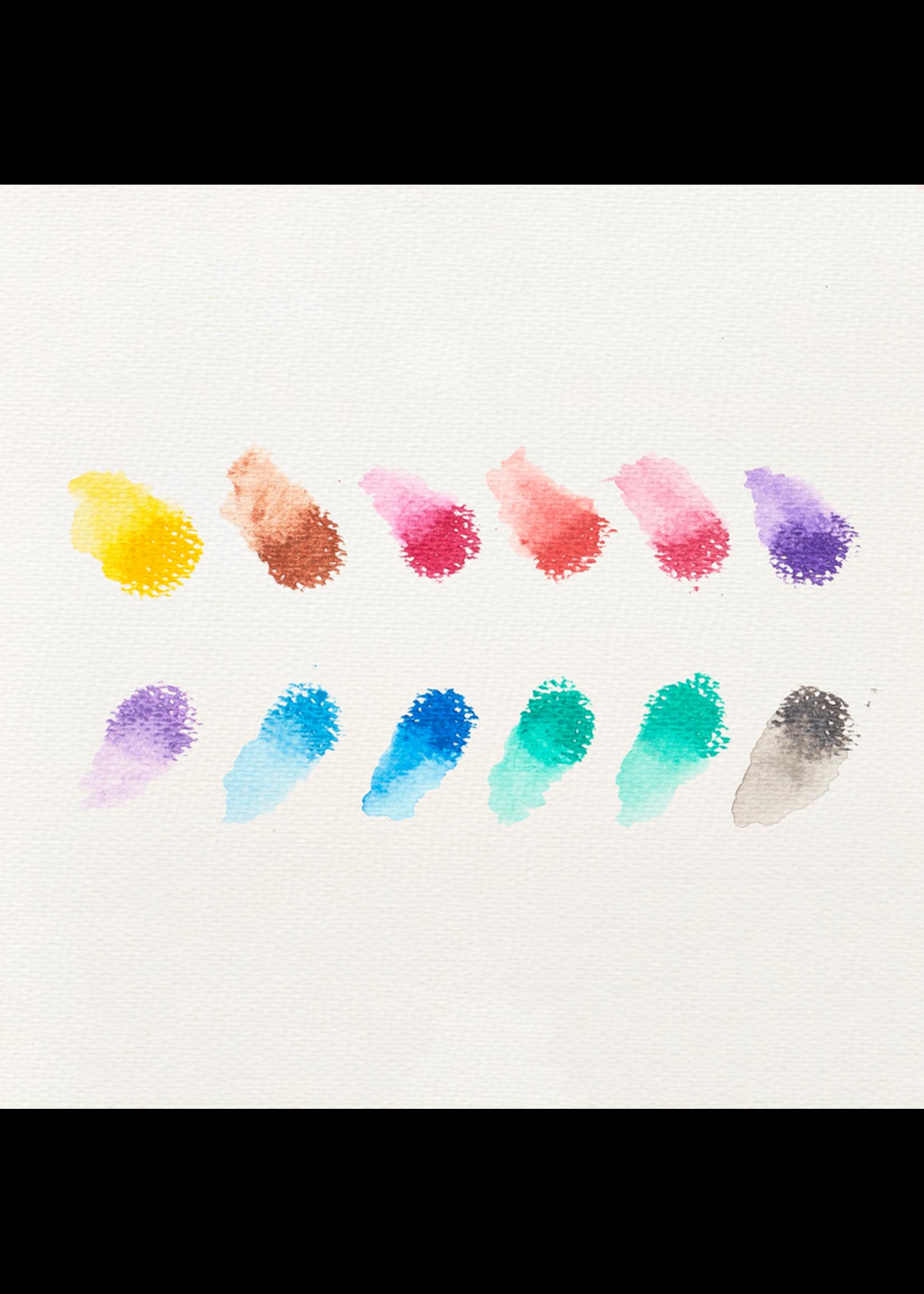 Ooly Crayon gel brillant Rainbow Watercolor