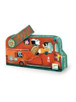 Djeco Casse-tête Camion de pompier