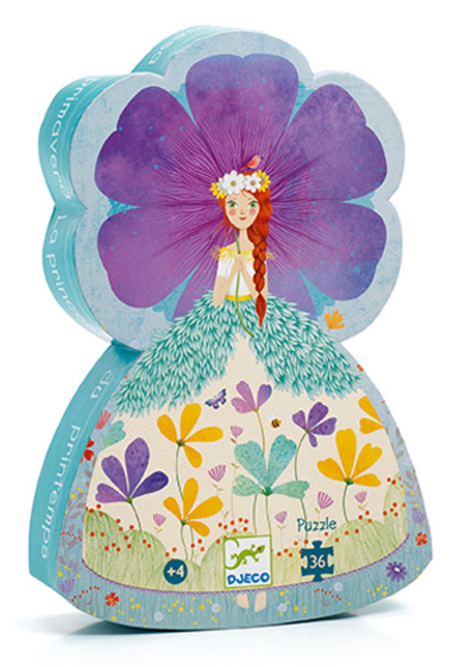 Djeco Casse-tête Princesse du printemps