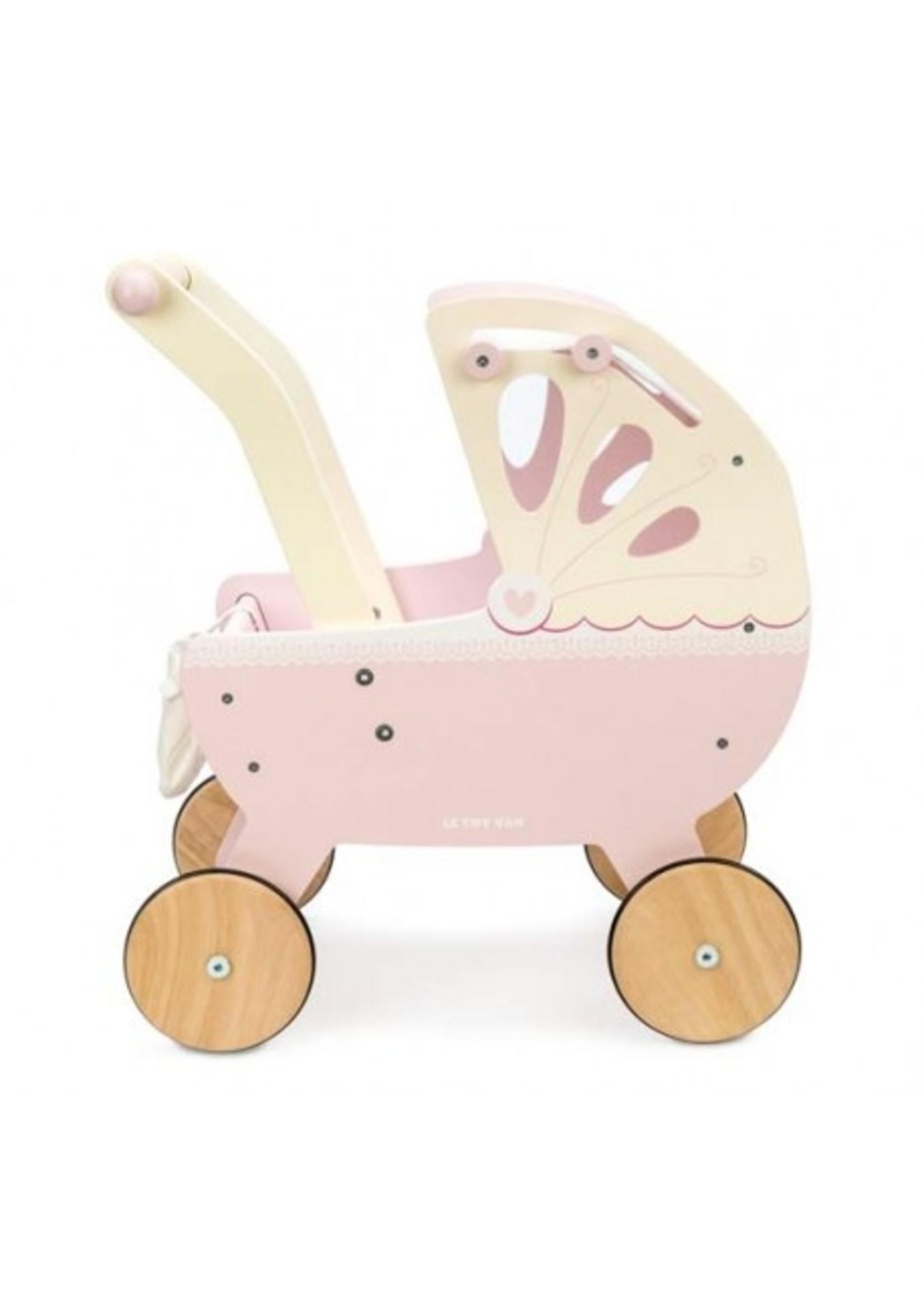 Le Toy Van Landau pour poupée Rose