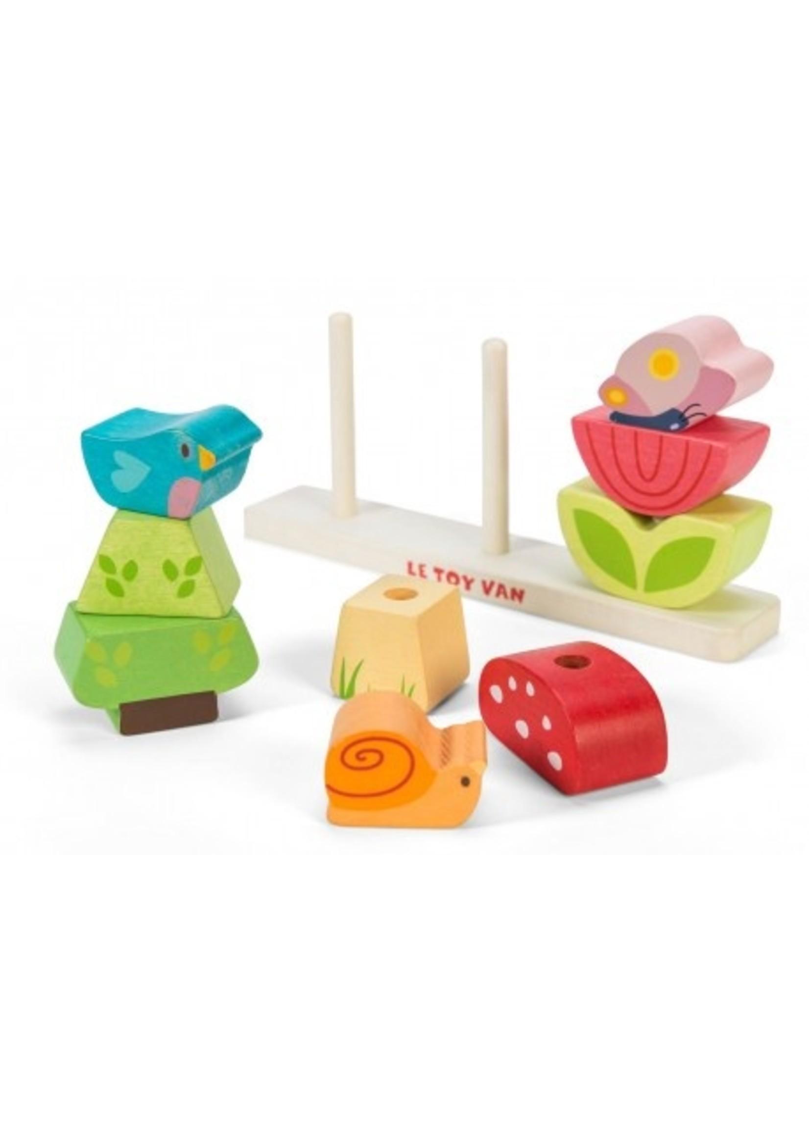 Le Toy Van Mon petit jardin empilable