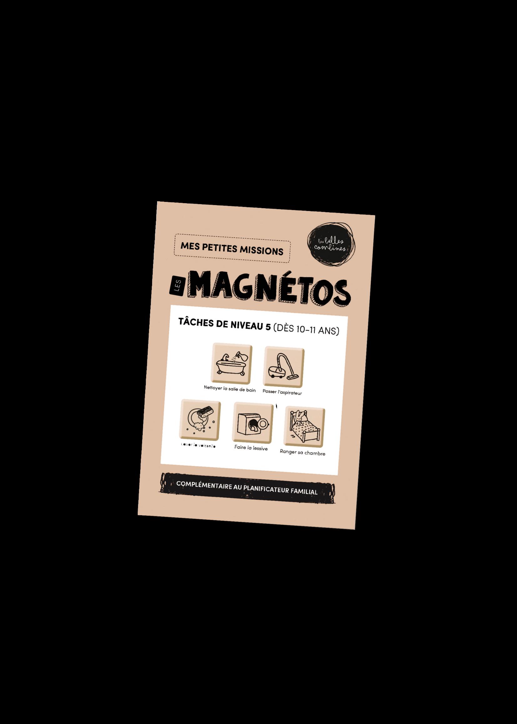 Les belles combines Les magnétos mes petites missions -Niveau 5