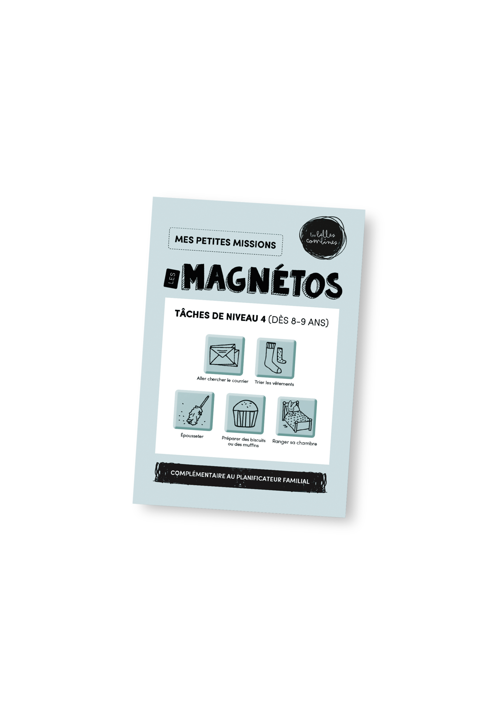 Les belles combines Les magnétos mes petites missions -Niveau 4
